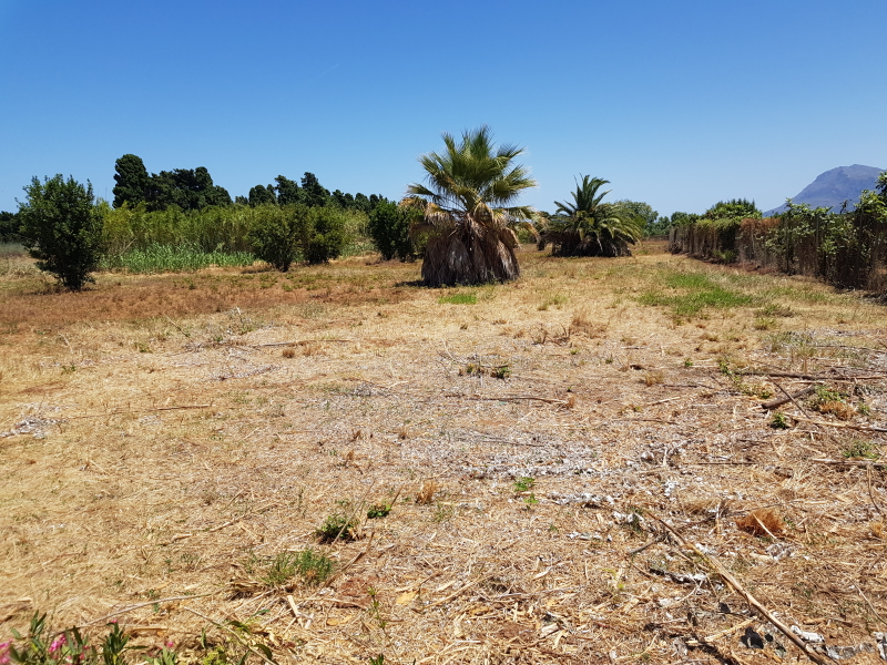Grand terrain à bâtir proche de la plage