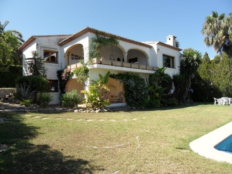Villa avec vue sur la mer à vendre à Javea Tosalet Costa Blanca