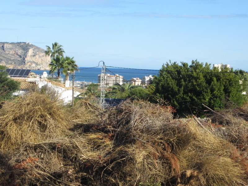 Oppotrunité terrain constructible à Javea Adsubia Costa Blanca, Espagne