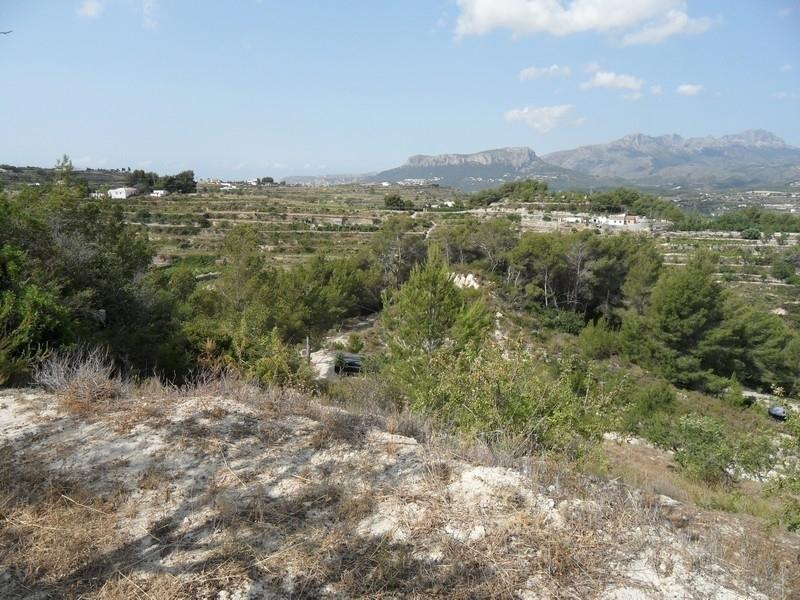 Grand terrain à vendre à Benissa Ptda Llenes Costa Blanca, Espagne