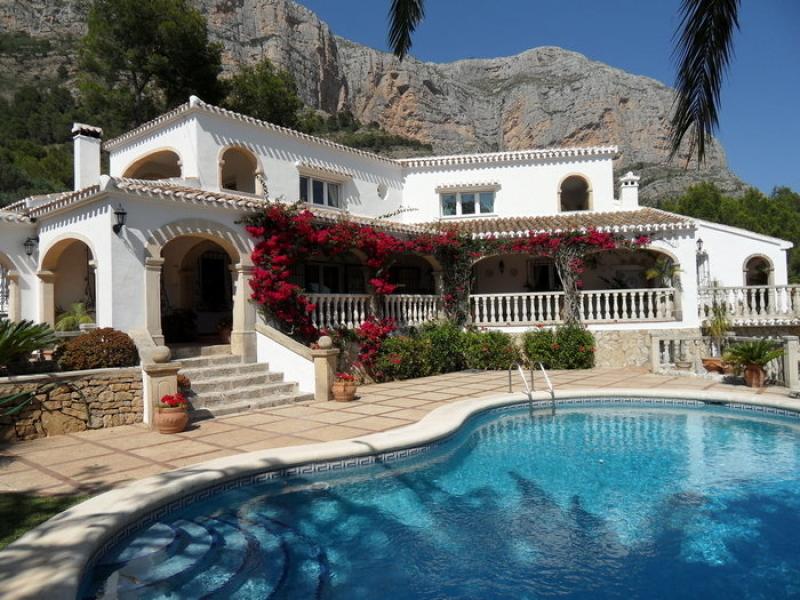 Somptueuse villa à Javea au Montgo