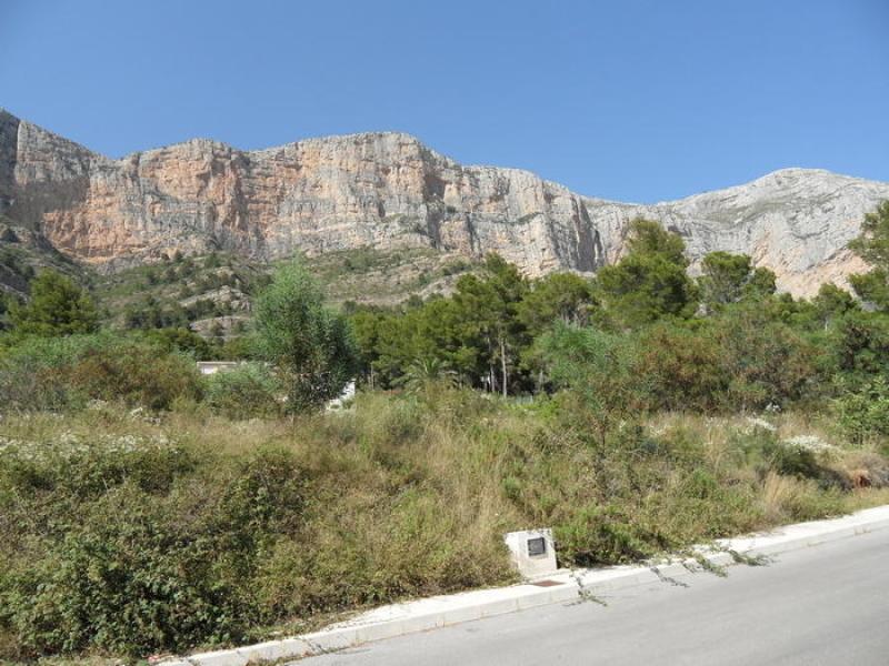 Achetez un terrain, Javea Montgo Costa Blanca, Espagne