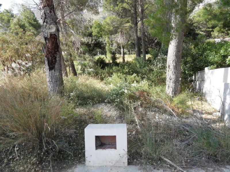 Terrain constructible à Javea secteur Montgo