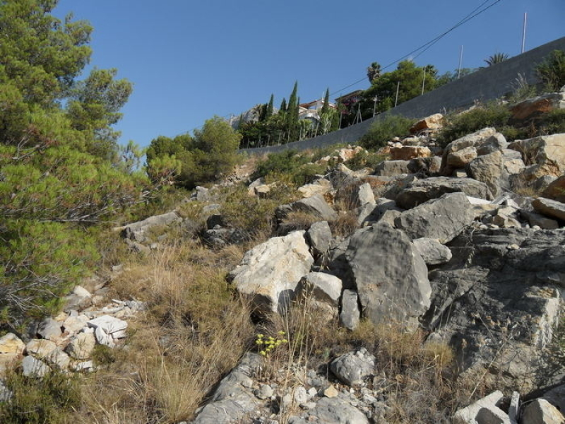 Très grand terrain à vendre à Javea Castellans Costa Blanca, Espagne
