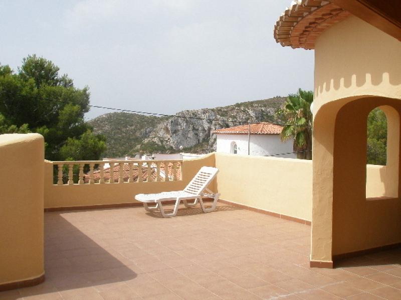 Superbe Villa vue mer sur un terrain plat à vendre à Javea Granadella Costa Blanca, Espagne
