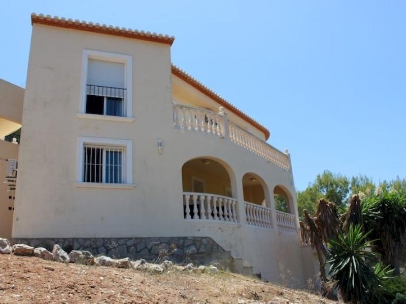 Superbe villa moderne avec une incroyable vue à Javea Covatelles