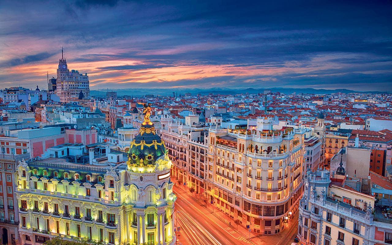 Vue d'ensemble de l'Espagne